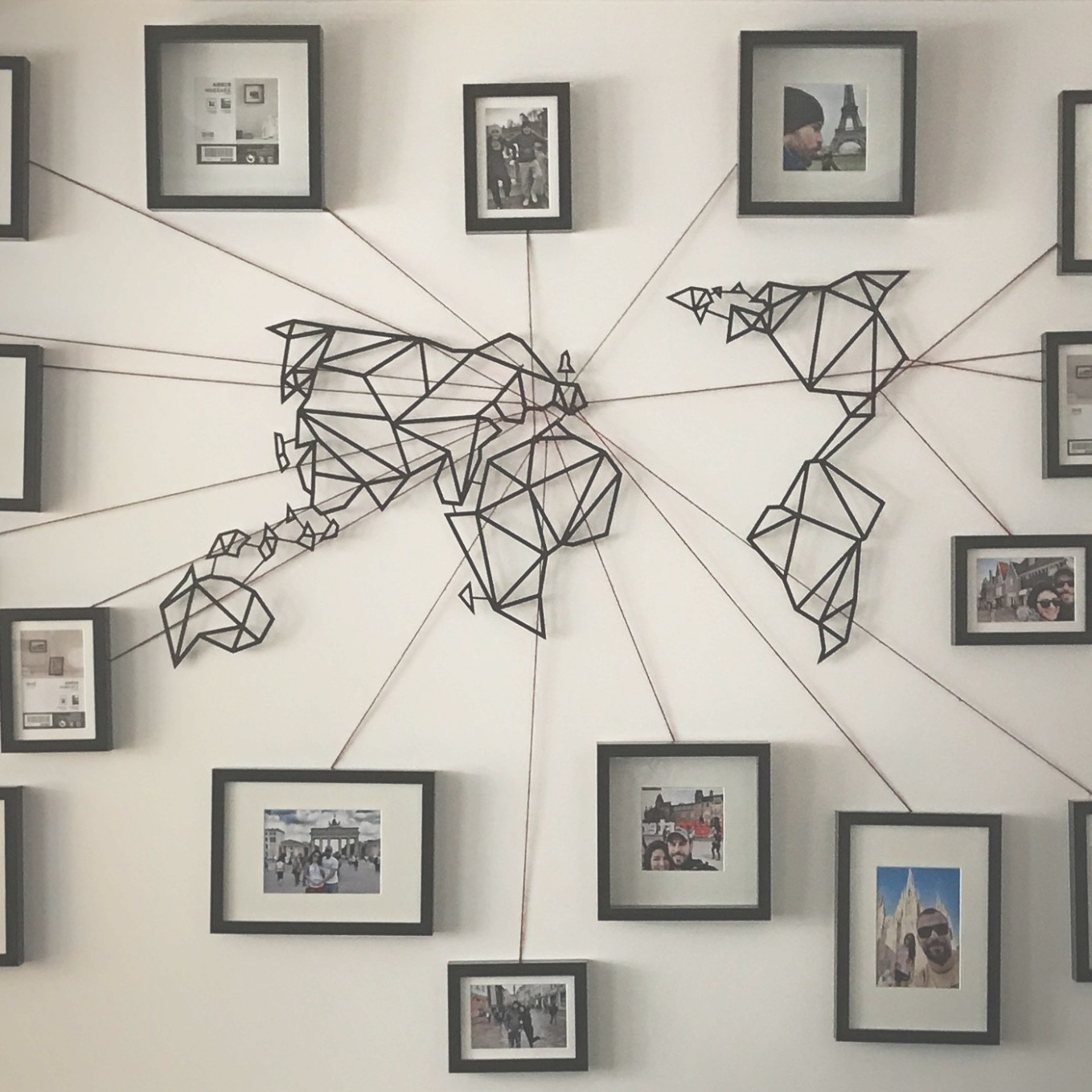 Photo Gallery Of Wall Art Map World Viewing 11 45 Photos And Metal Pertaining To 2017 Wall Art Map Of World (View 12 of 20)