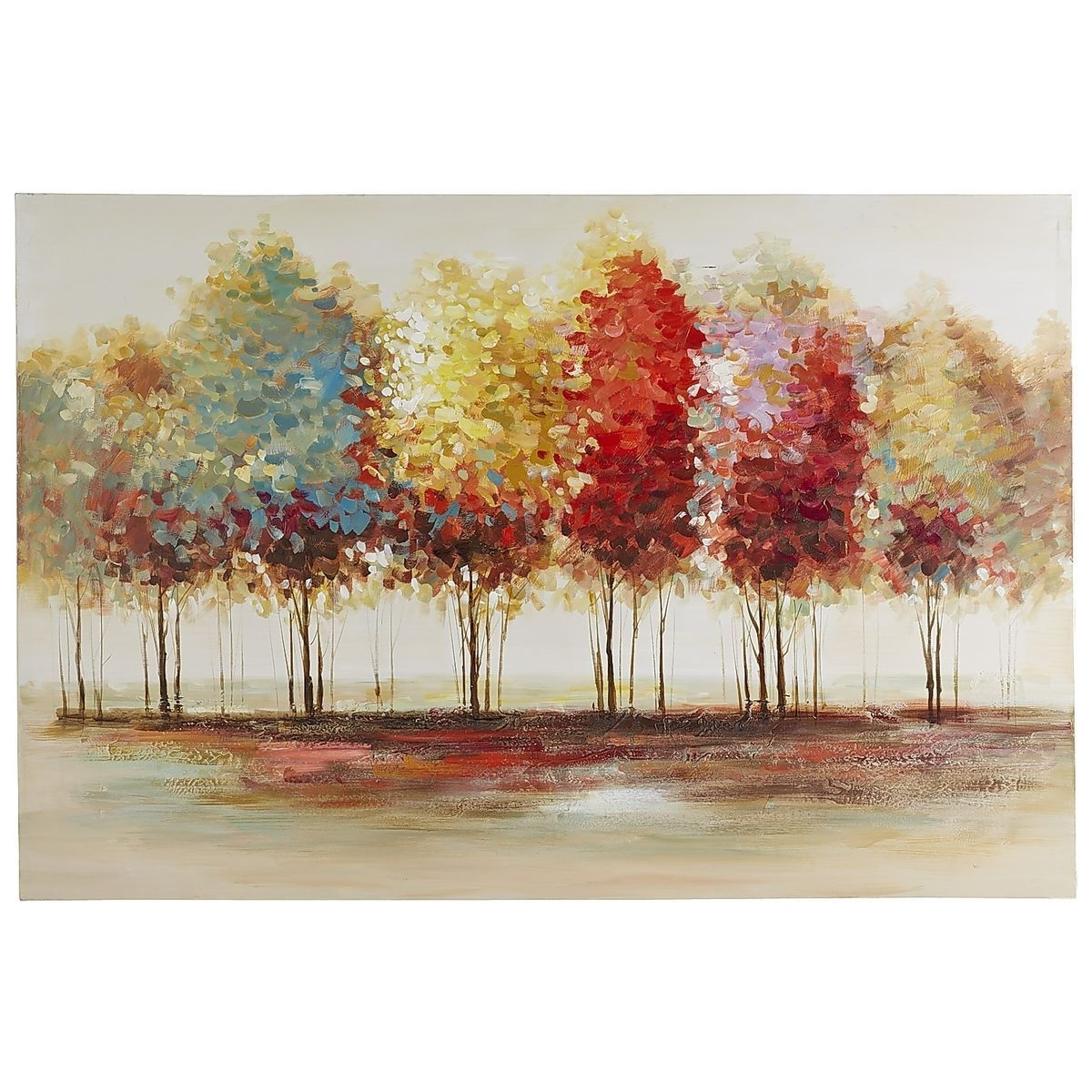 Pier 1 Imports Lively Trees Art | Pinterest | Tree Art, Paintings In Most Popular Pier 1 Wall Art (View 14 of 20)
