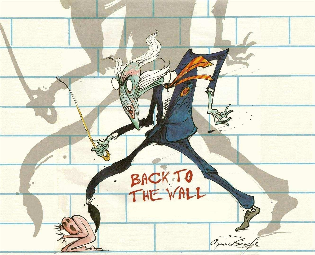 Pink Floyd The Wall Art Inspirational From Pink Floyd S The Wall Inside Most Recently Released Pink Floyd The Wall Art (View 12 of 20)