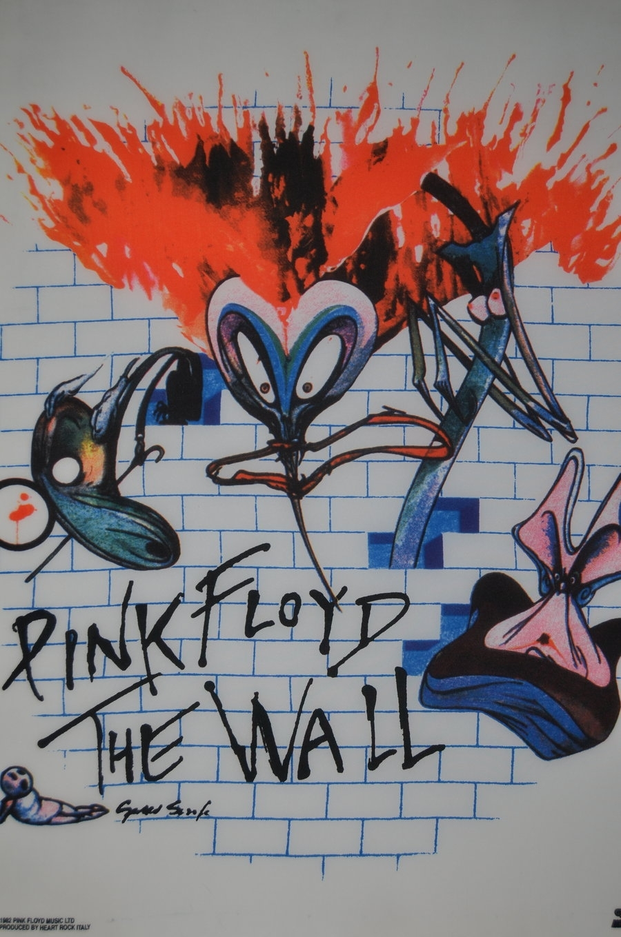 Pink Floyd The Walldinkok On Deviantart with regard to Best and Newest Pink Floyd The Wall Art