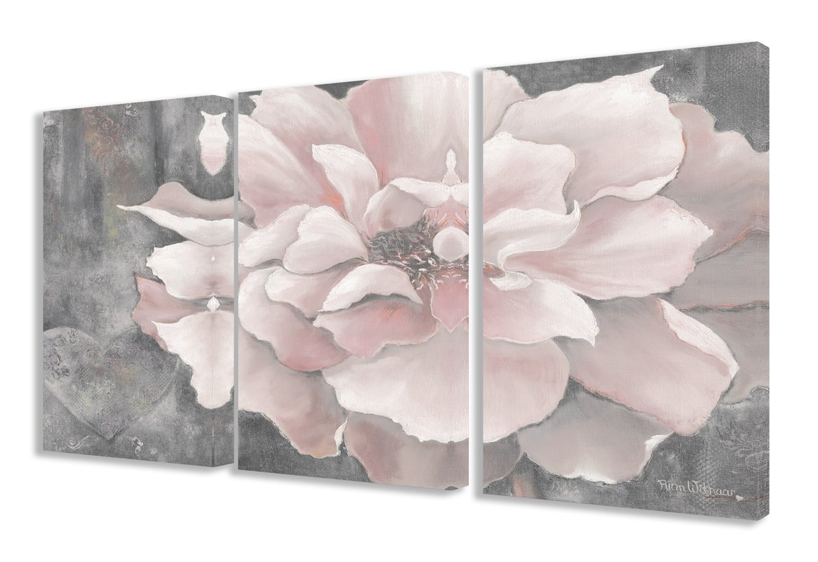 Pink Wall Art You'll Love | Wayfair With Newest Pink Wall Art (View 19 of 20)