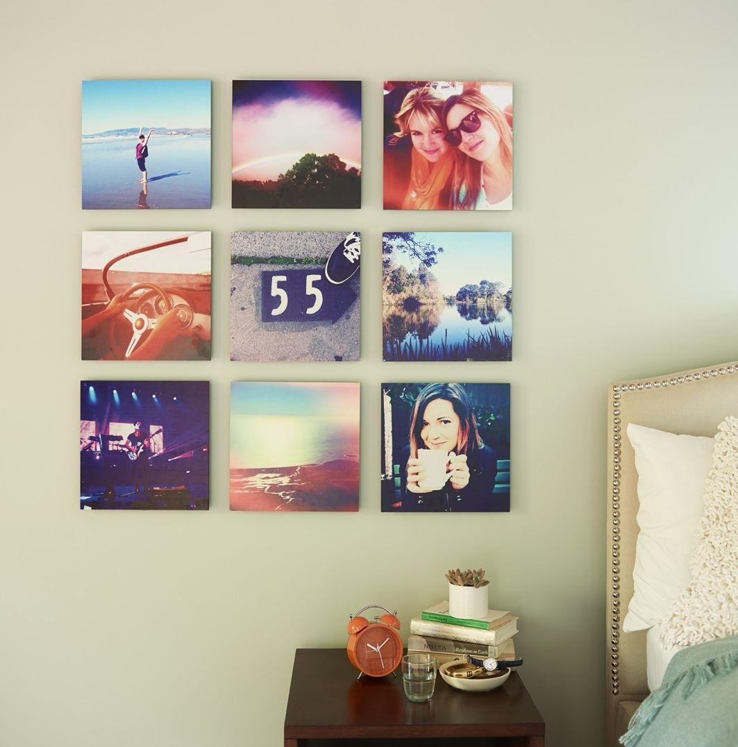 Pinmariah Kurzinger On Apartment | Pinterest | Wood Wall Art Throughout Newest Instagram Wall Art (Gallery 8 of 20)