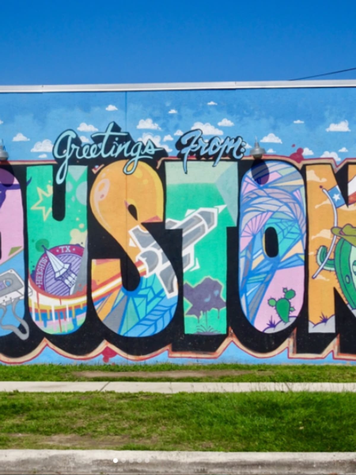 Pleasant Houston Wall Art Street 15 Murals That Make The Perfect For Most Recently Released Houston Wall Art (View 15 of 20)
