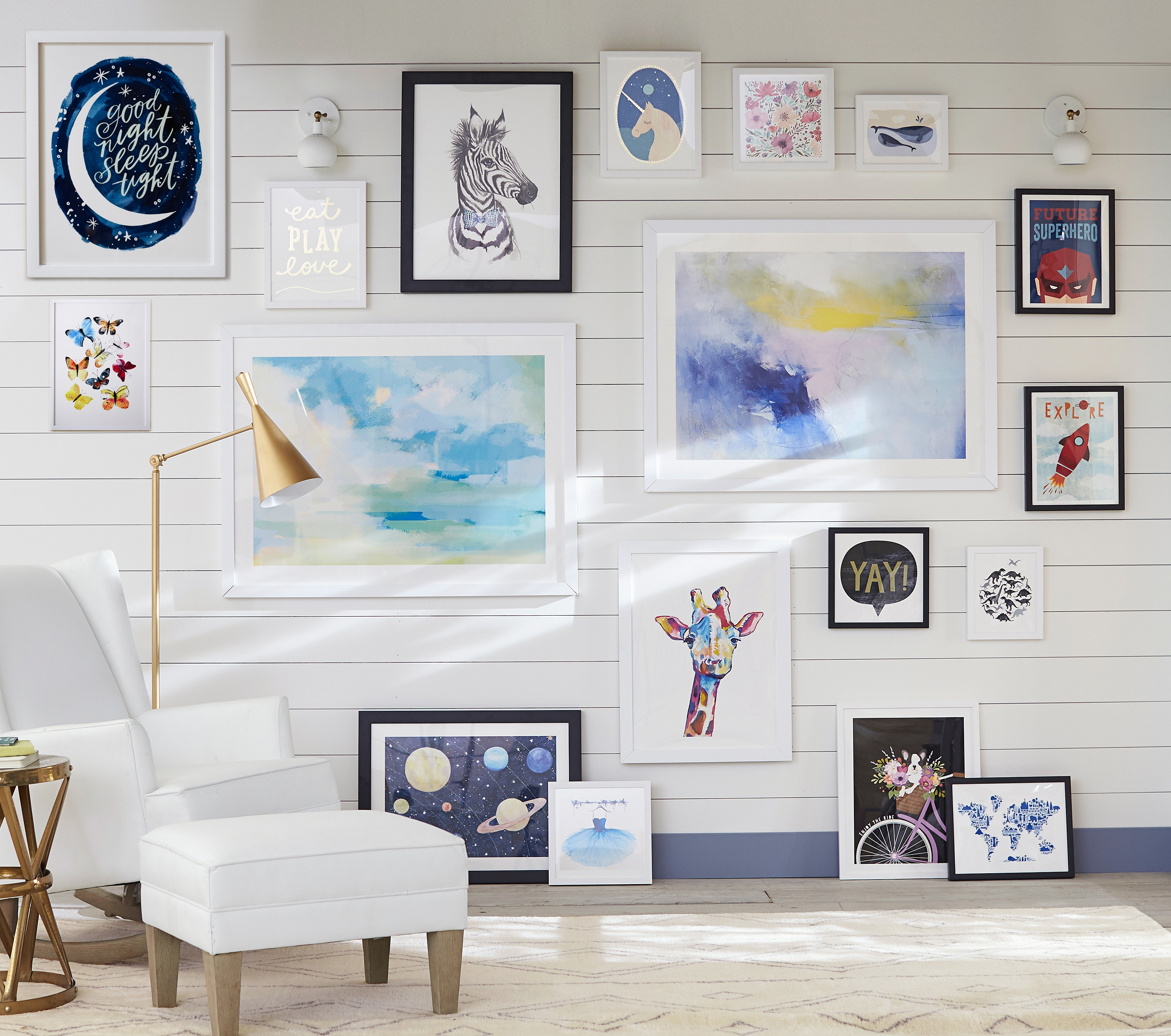 Pottery Barn Kids And Pbteen Debut Exclusive Wall Art Collection In 2017 Pottery Barn Wall Art (View 11 of 15)