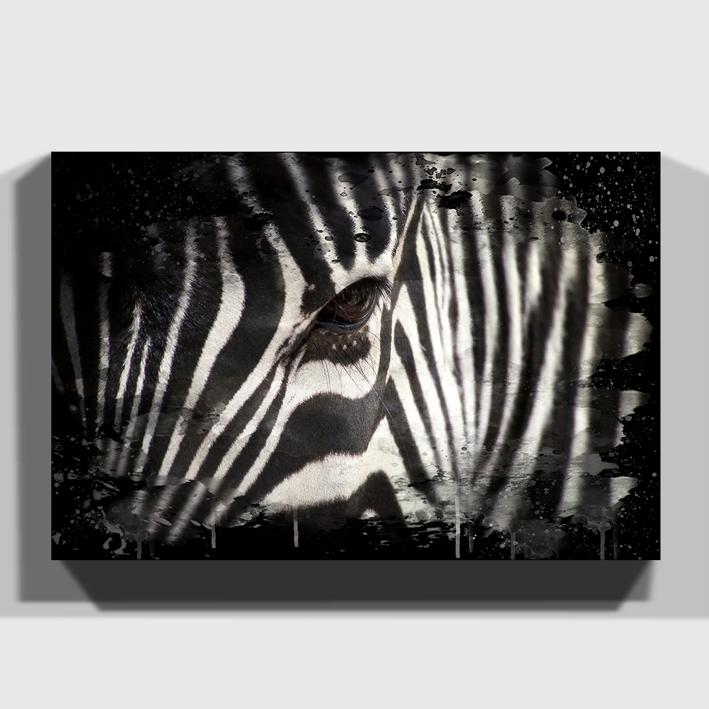 Premium Canvas Print Wall Art Zebra (4) | Ebay Intended For 2018 Zebra Canvas Wall Art (View 16 of 20)