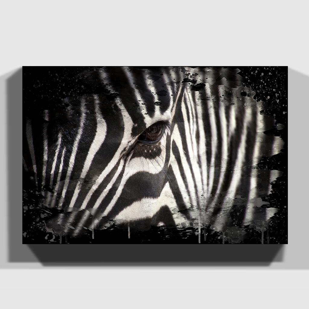 Premium Canvas Print Wall Art Zebra (4)   Ebay Intended For 2018 Zebra Canvas Wall Art (View 12 of 20)