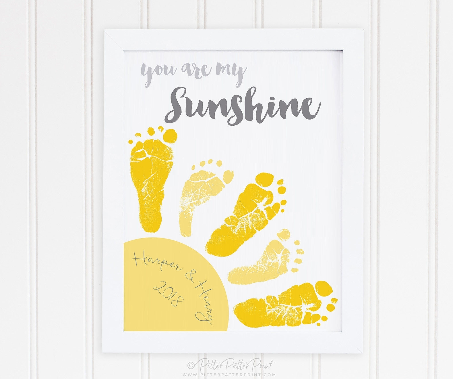 Pretty Twin Nursery Wall Art Ideas The Wall Art Decorations Inside Most Recent You Are My Sunshine Wall Art (View 5 of 15)