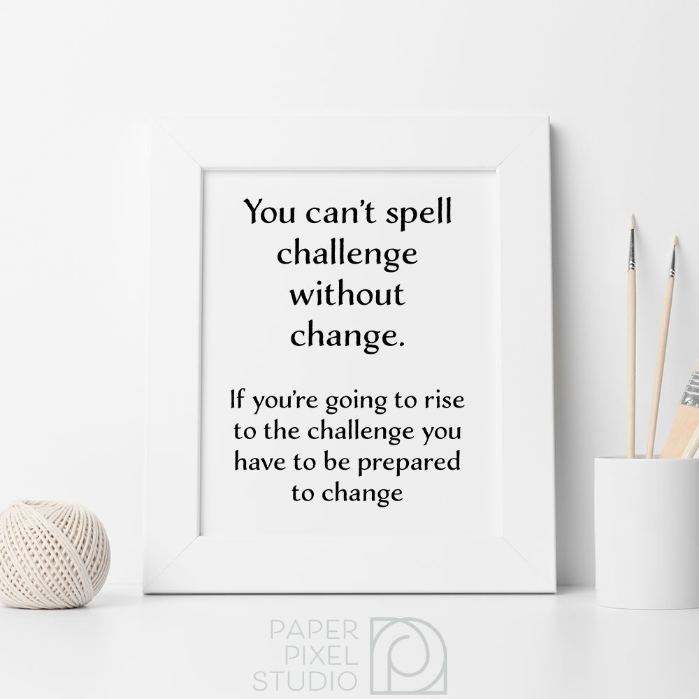Printable Art, Motivational Art, Inspirational Quotes, Minimalist With Most Current Inspirational Quotes Wall Art (Gallery 14 of 20)