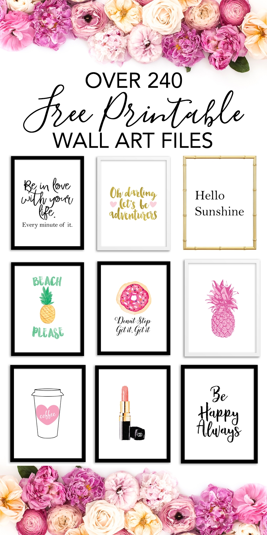 Printable Wall Art – Print Wall Decor And Poster Prints For Your Home With Regard To Most Up To Date Printable Wall Art (View 14 of 20)
