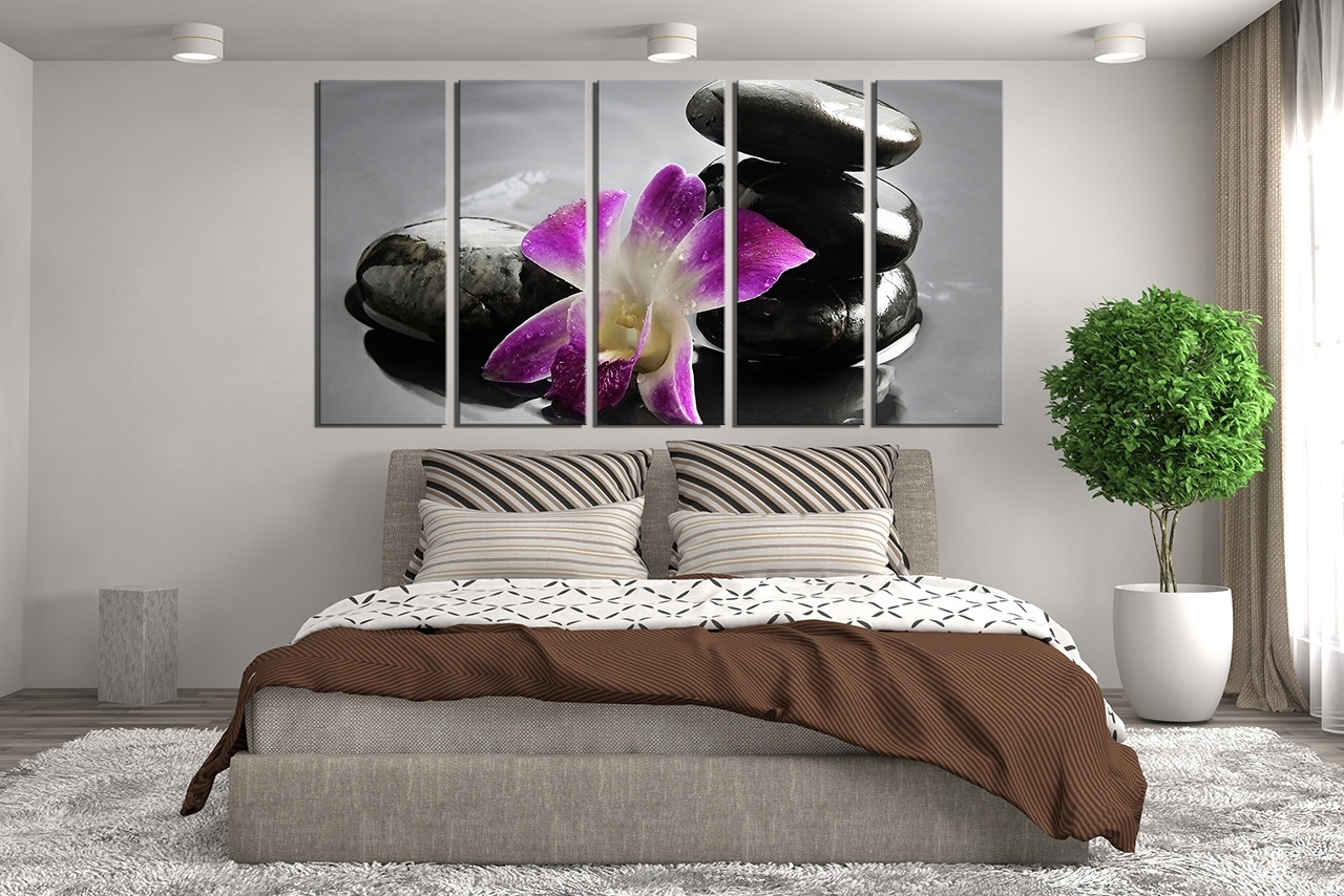 Purple Canvas Wall Art Large : Andrews Living Arts – Pretty Purple In Latest Wall Art (View 10 of 15)