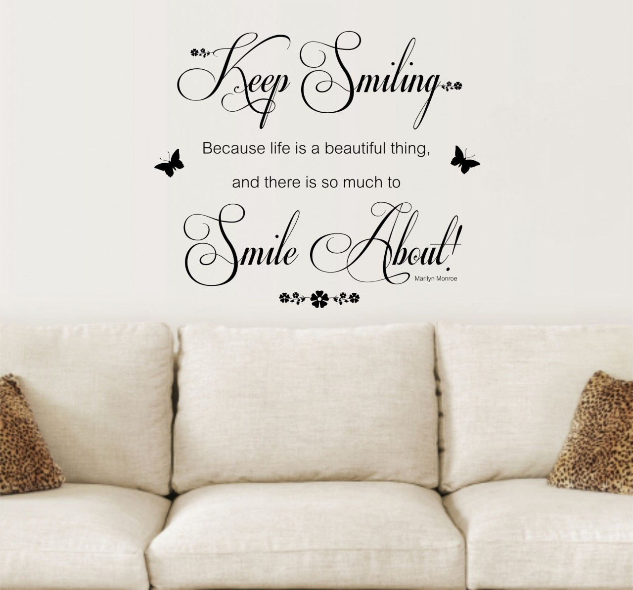 Quotes For Wall Decoration – Blogtipsworld Inside Most Recent Inspirational Quotes Wall Art (Gallery 8 of 20)