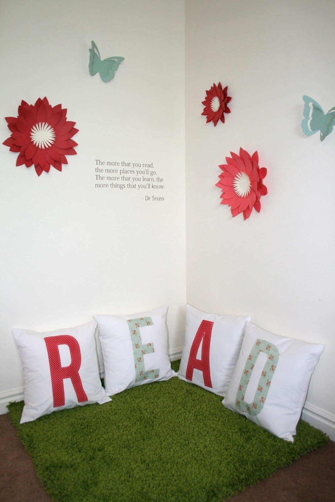 Reading Corner Series – Dimensional Wall Art – Cute For Schools Throughout Most Current Corner Wall Art (Gallery 19 of 20)