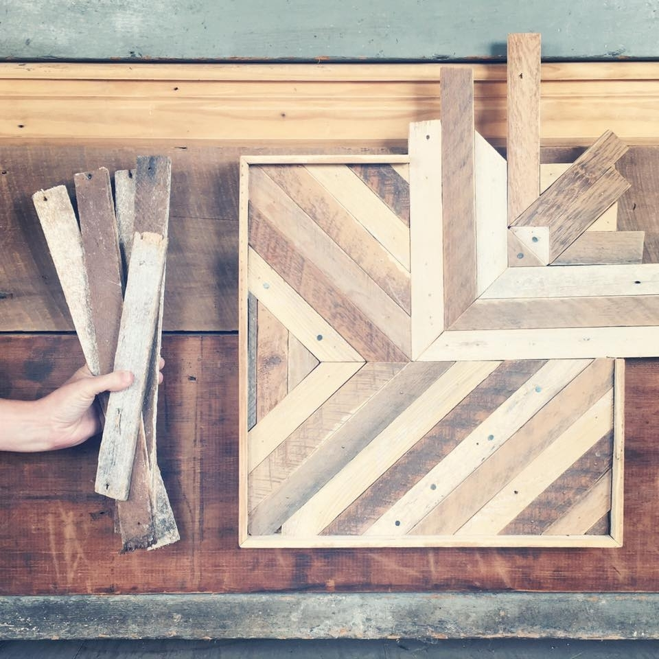 Reclaimed Wood Wall Art – Perennial Pertaining To Most Up To Date Reclaimed Wood Wall Art (View 3 of 15)