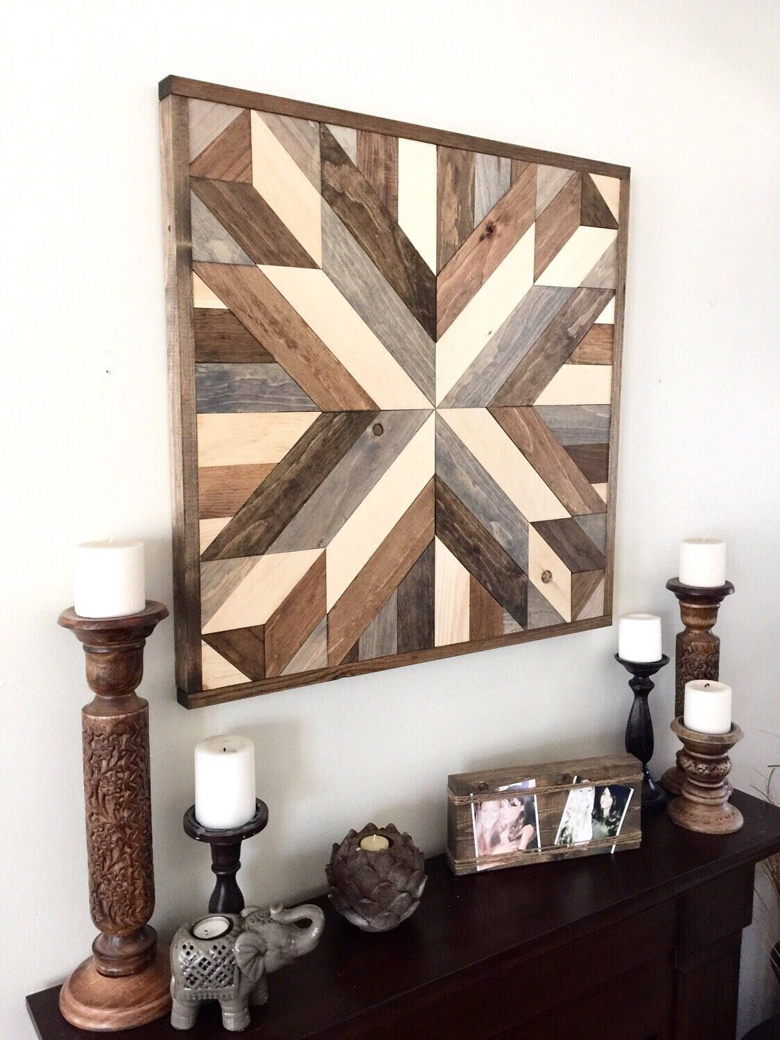 Reclaimed Wood Wall Art, Wood Art, Rustic Wall Decor, Farmhouse Regarding Best And Newest Reclaimed Wood Wall Art (View 9 of 15)