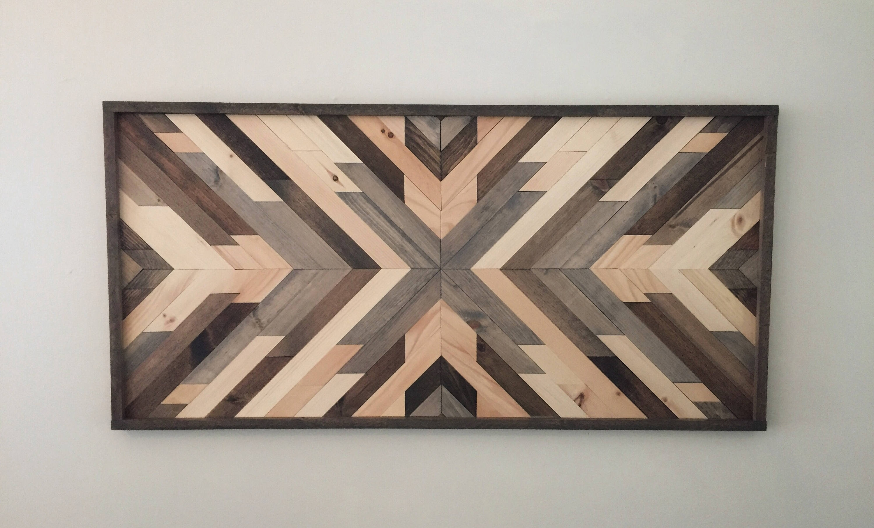 Reclaimed Wood Wall Art Wood Art Wall Decor Wood Decor, Wood Wall Throughout Most Popular Wood Art Wall (View 6 of 15)