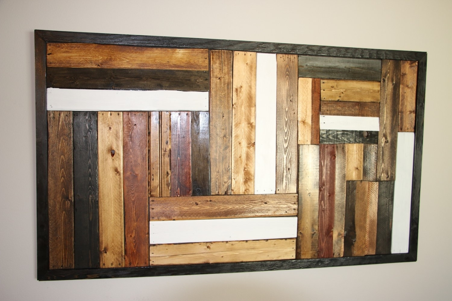 Recycled Pallet Wall Art Pallet Furniture Plans, Tables Pallet Art For Latest Pallet Wall Art (Gallery 2 of 15)