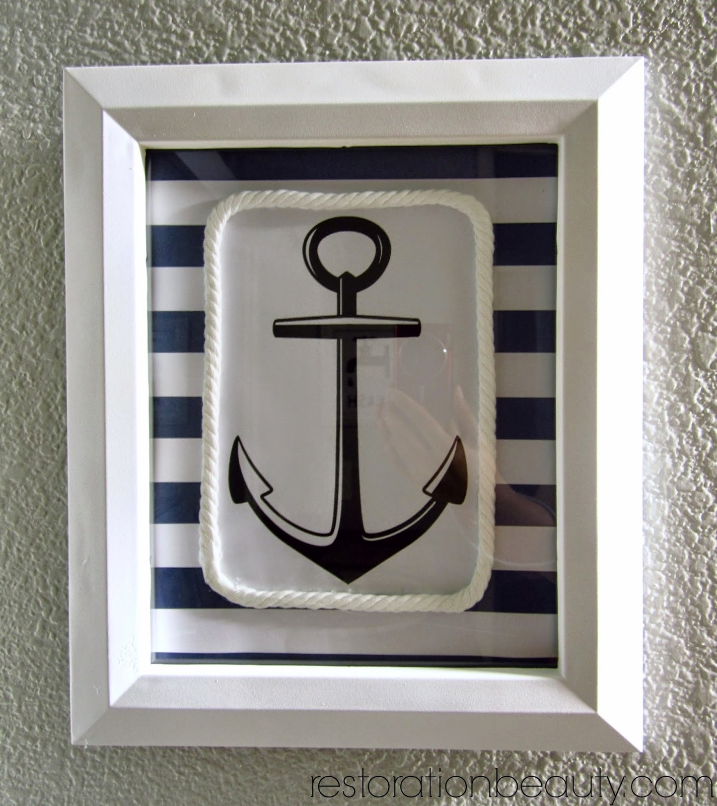 Restoration Beauty: Diy Nautical Wall Art Throughout Most Popular Nautical Wall Art (Gallery 15 of 15)