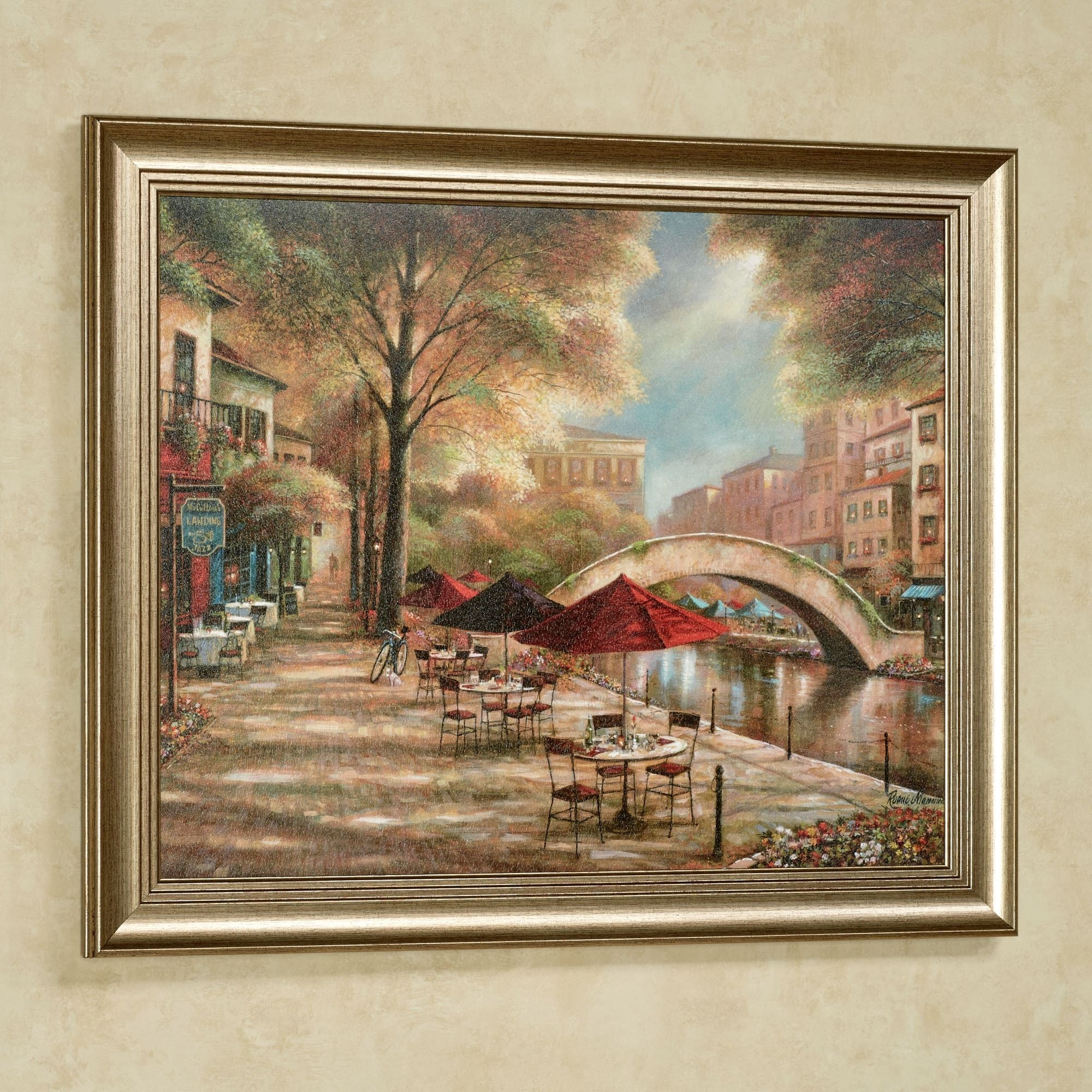 Riverwalk Charm Framed Wall Art Picture Within Best And Newest Framed Wall Art (View 12 of 15)