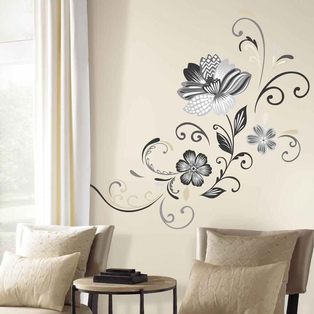 Roommates Wall Decals Rmkgm Photos Of Peel And Stick Wall Art Throughout 2018 Stick On Wall Art (View 17 of 20)