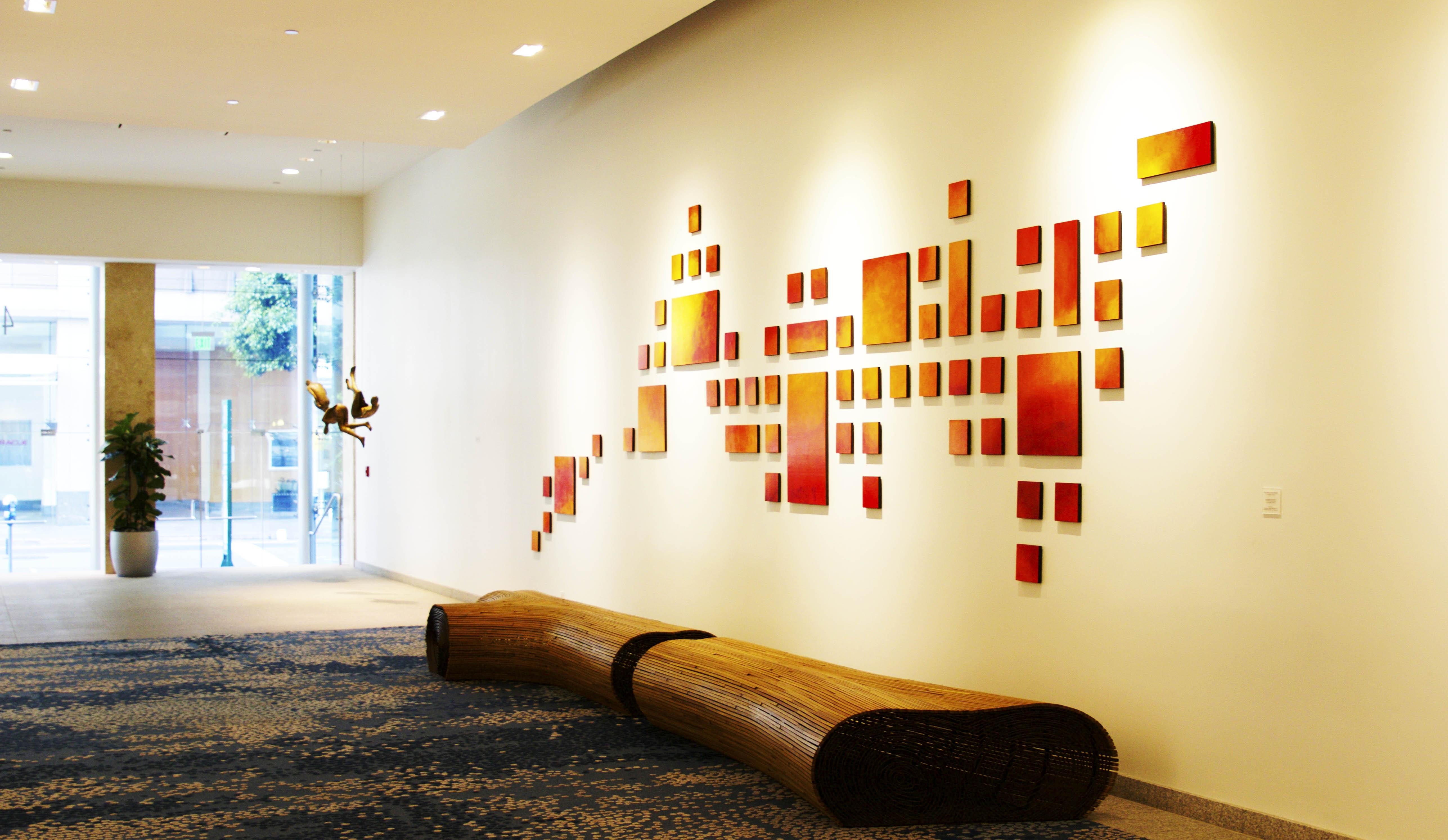 Rosemary Pierce Modern Art | Original Wall Sculpture Art Installations With Newest Modern Wall Art (View 12 of 15)