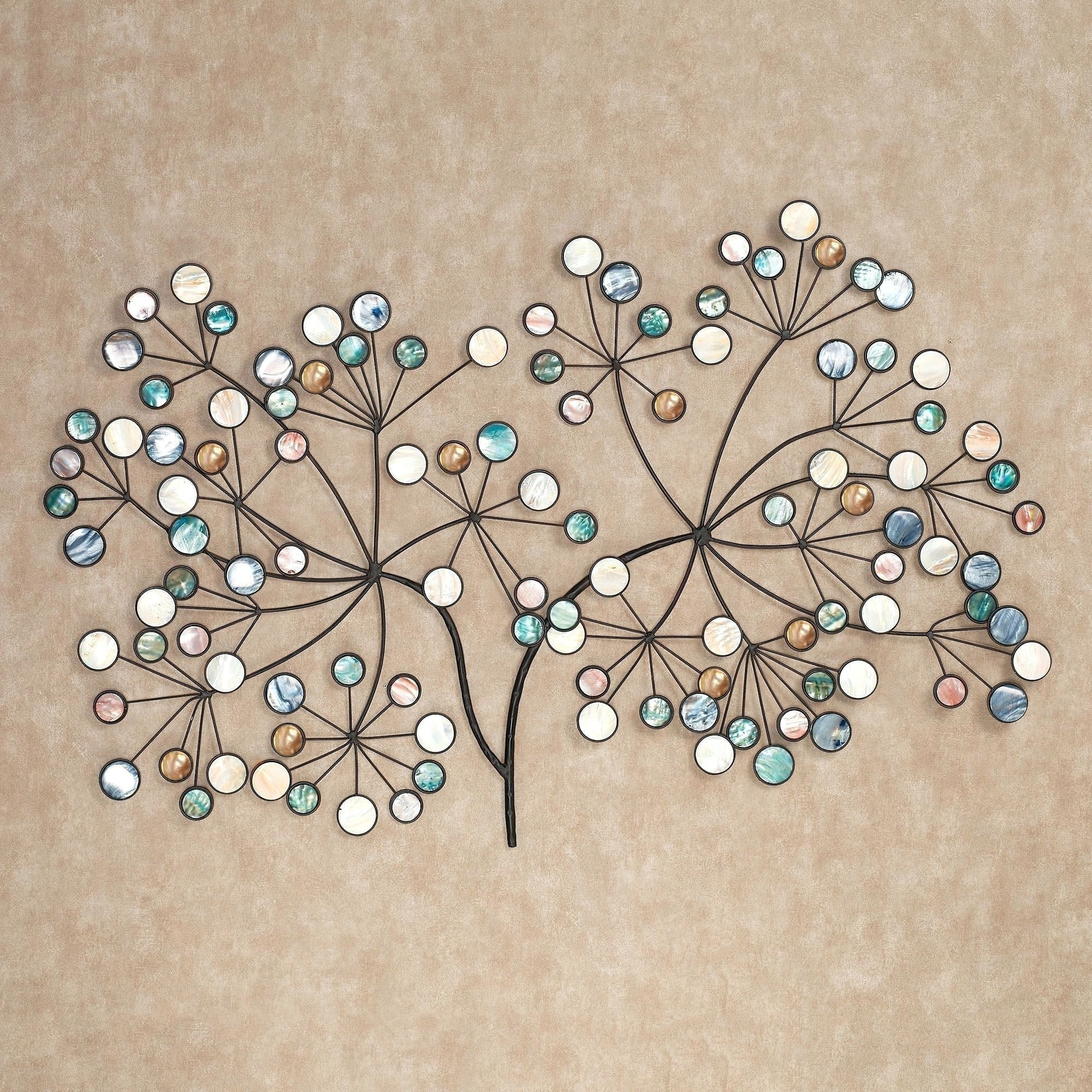 Round Medallion Wall Art Wooden Large Decor Beautiful Metal Home Pertaining To 2017 Medallion Wall Art (View 13 of 20)