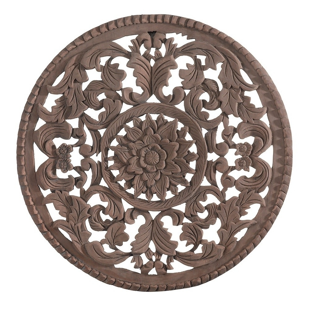 Round Wood Wall Art | Craft Get Ideas With Regard To Most Current Round Wood Wall Art (View 14 of 15)