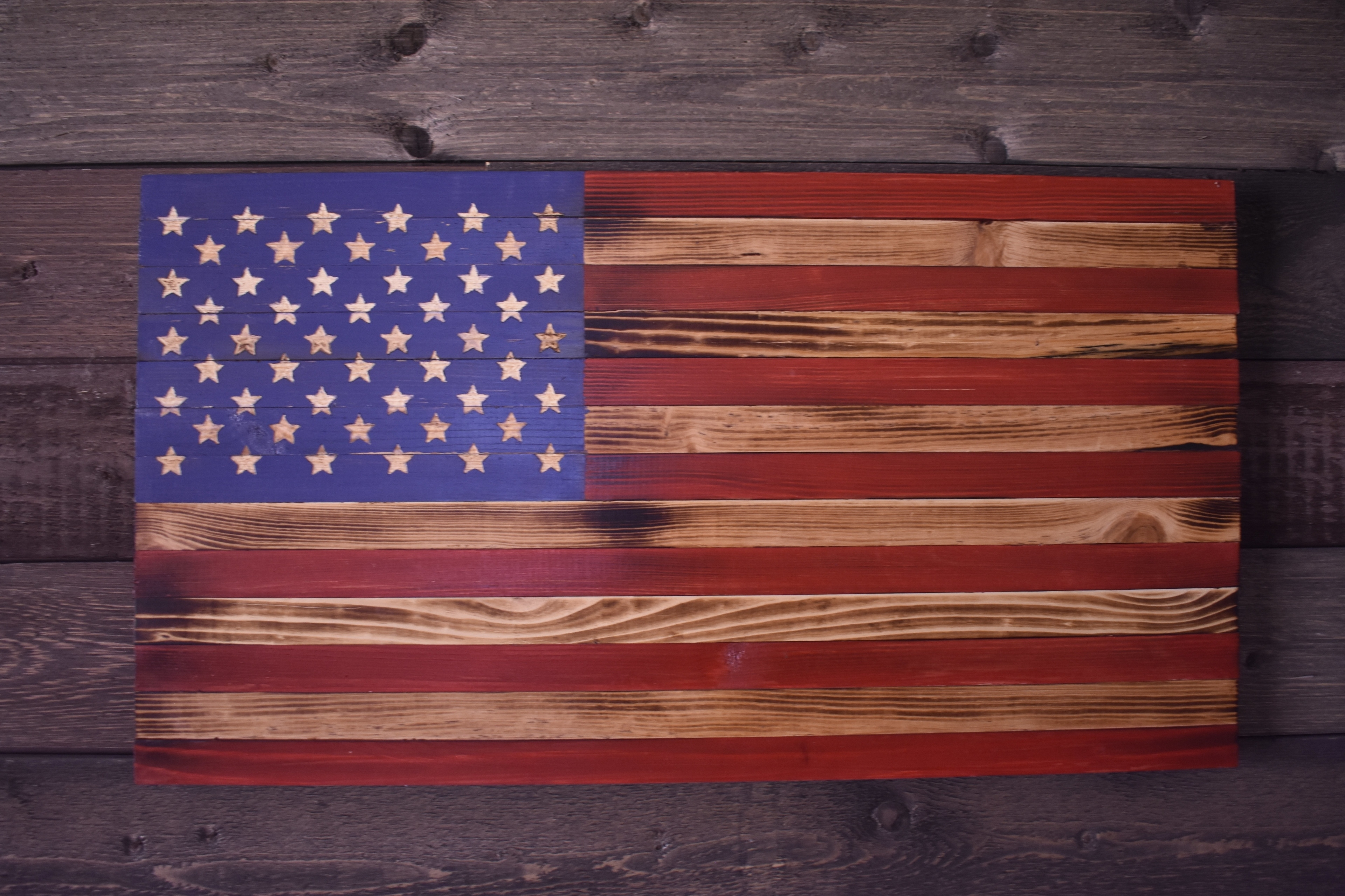 Rustic American Flag Decor Best Of Wooden American Flag Wall Art Intended For Current Rustic American Flag Wall Art (View 11 of 20)
