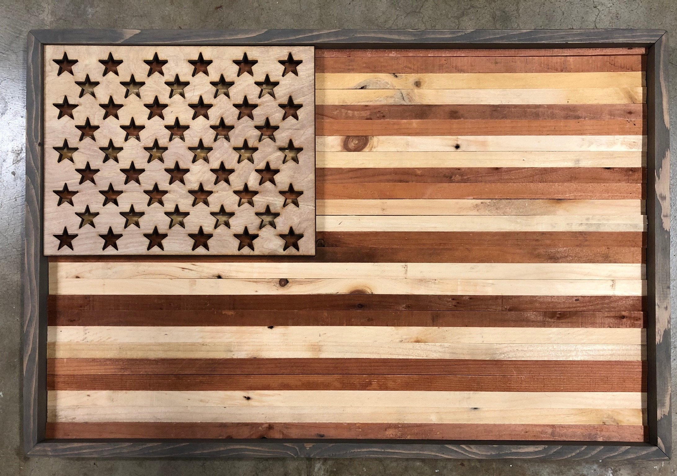 Rustic American Flag Wall Art Within Current Rustic American Flag Wall Art (Gallery 16 of 20)