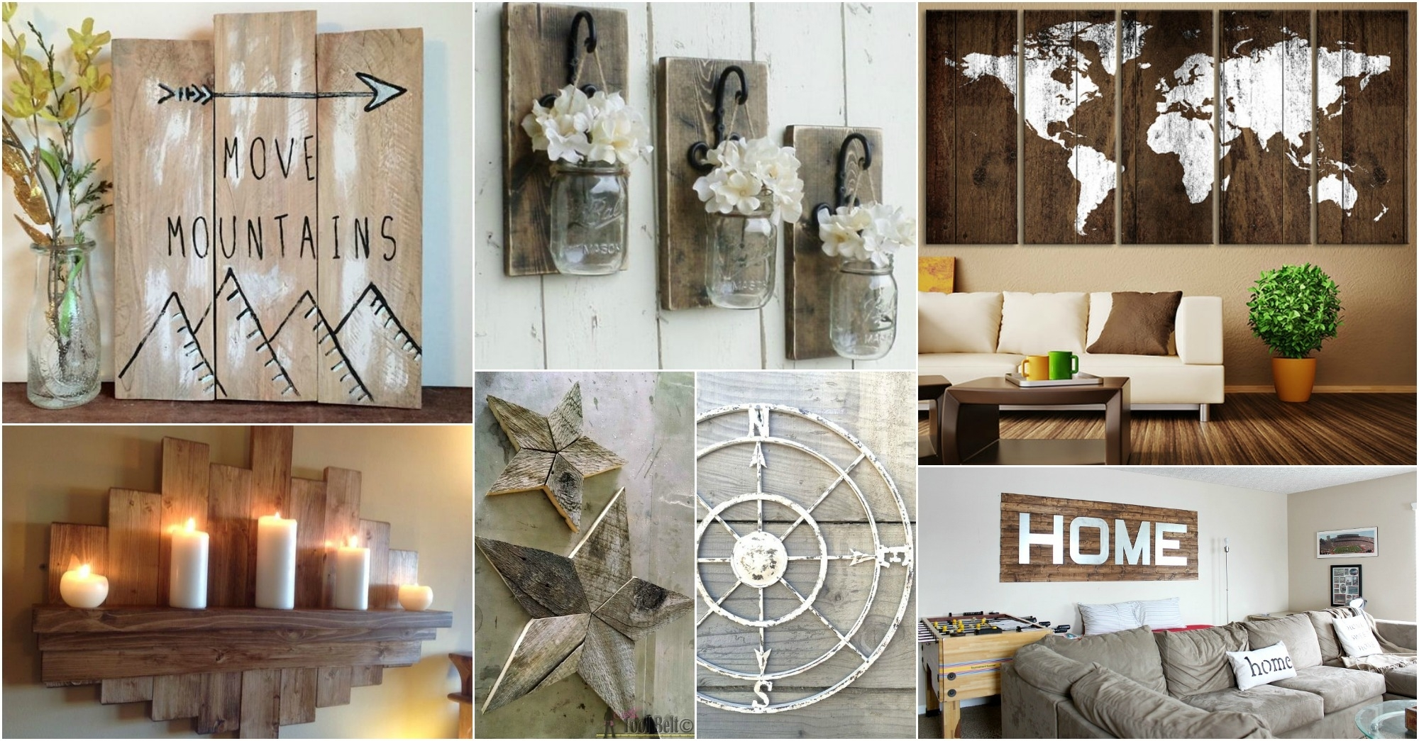 Rustic Wall Art Ideas To Spice Up The Atmosphere With Most Recently Released Rustic Wall Art (Gallery 6 of 15)