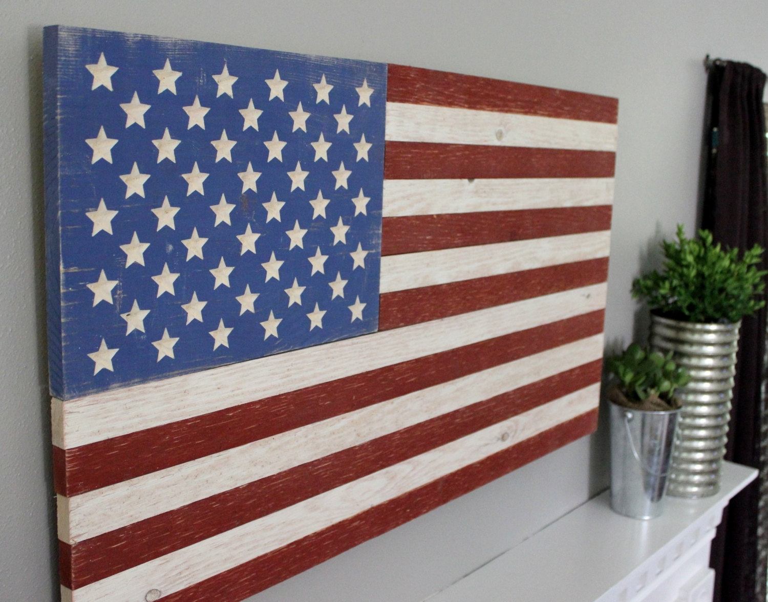 Rustic Wooden American Flag Superb American Flag Wall Art – Prix Throughout Latest Wooden American Flag Wall Art (Gallery 9 of 20)