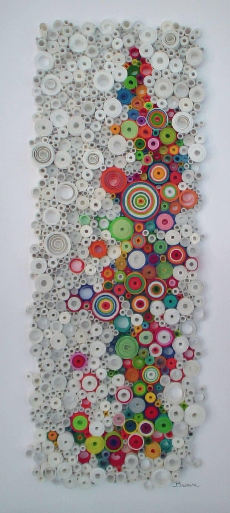 Saatchi Art: Modern Wall Art, Circular Wall Art, Original 3 Pertaining To Newest 3 Dimensional Wall Art (Gallery 3 of 20)