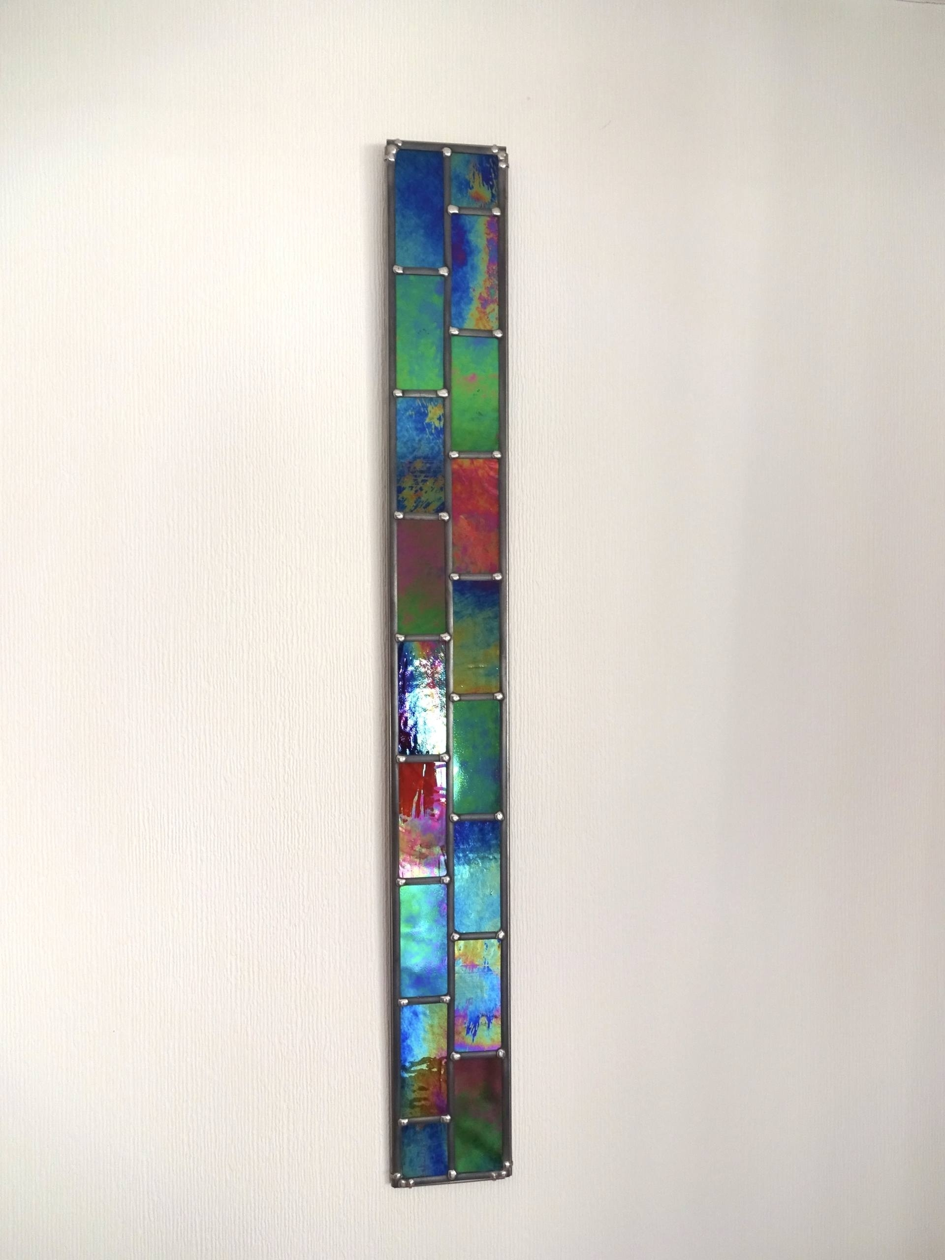 Saatchi Art: Stronger Together – 2D Opaque Stained Glass Wall Art Regarding Recent Stained Glass Wall Art (View 17 of 20)