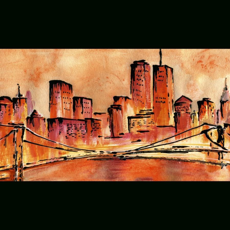 San Francisco Golden Gate Bridge Abstraktionkunstlab On Deviantart Throughout 2017 San Francisco Wall Art (View 10 of 20)