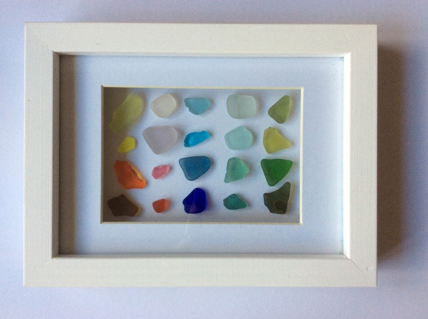 Sea Glass Art, Scottish Seaglass Colours, Beach Glass Colour Chart Throughout 2018 Sea Glass Wall Art (View 8 of 15)
