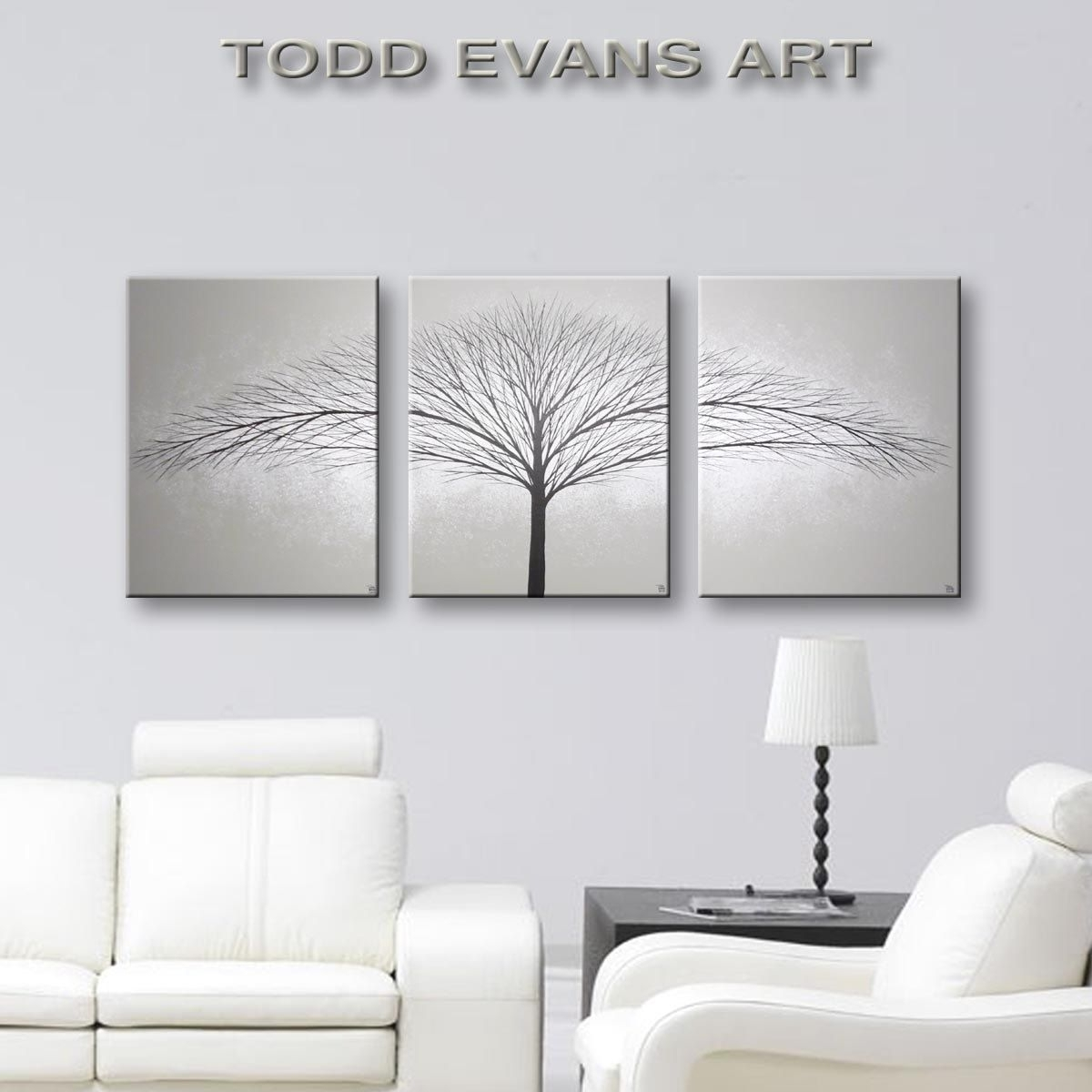 Sensational Grey Wall Decor Art Canvas Painting Piece Minimalist Inside Most Recently Released Grey Wall Art (Gallery 16 of 20)