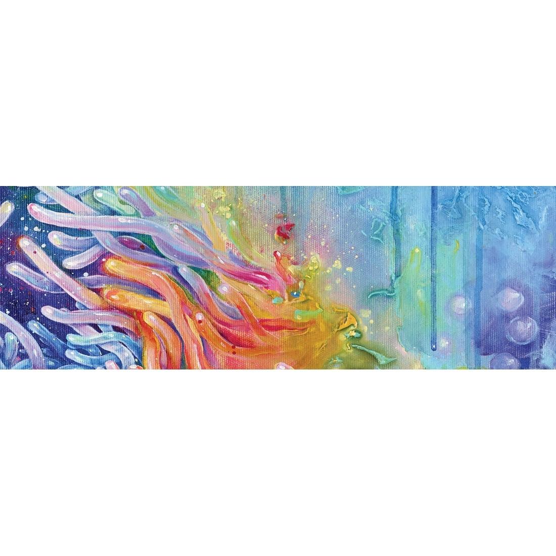 Serpent Flow (long) – Canvas Print – Wall Art – Australia Inside Recent Long Canvas Wall Art (View 16 of 20)