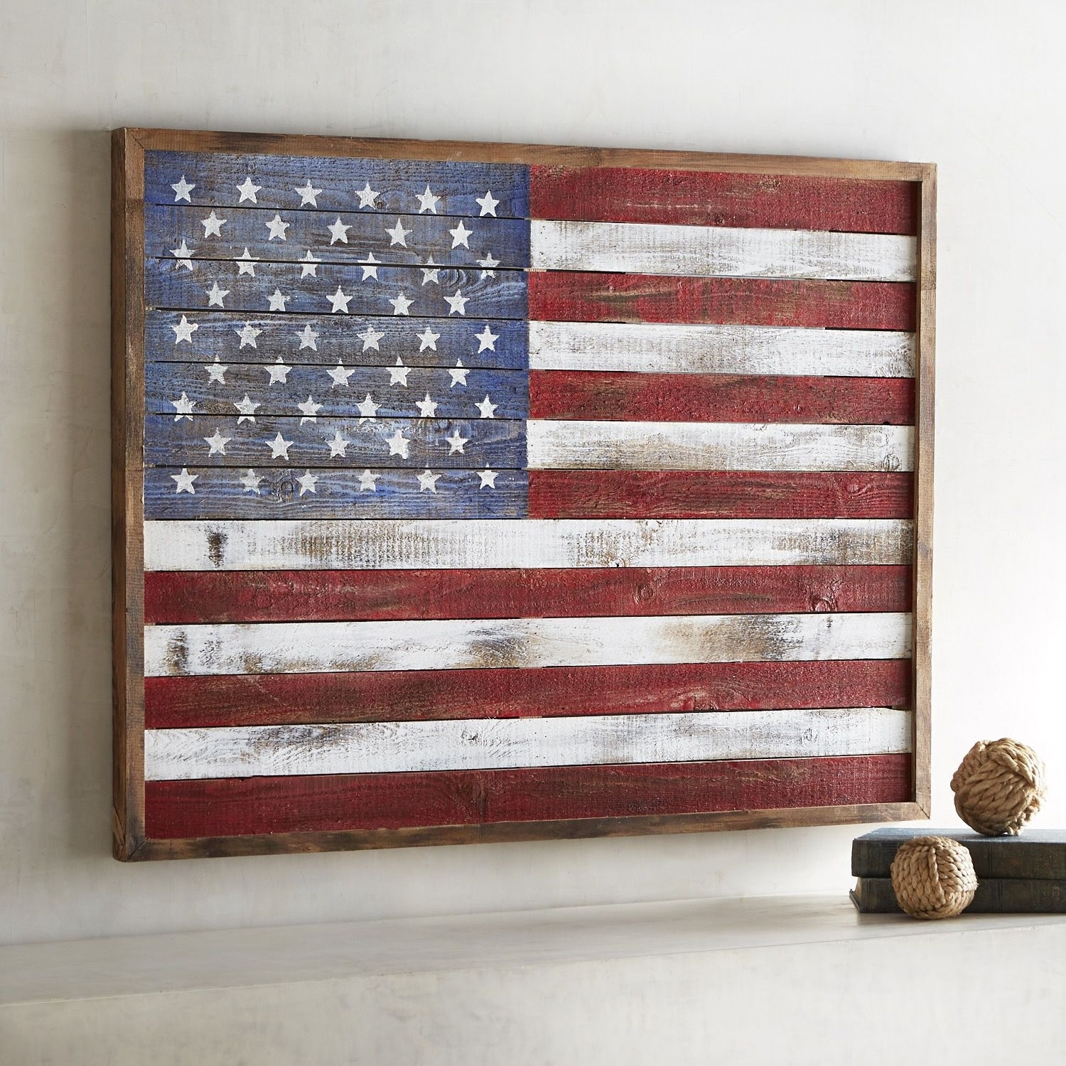 Shiplap American Flag Wall Decor | Products | Pinterest | Wall Decor Within 2018 American Flag Wall Art (View 10 of 15)