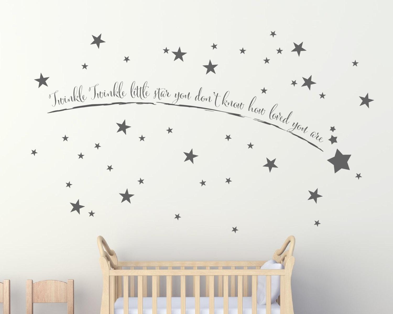 Shooting Star Wall Art - Wall Art Stickers - Wall Art - Wall for 2018 Wall Art Stickers
