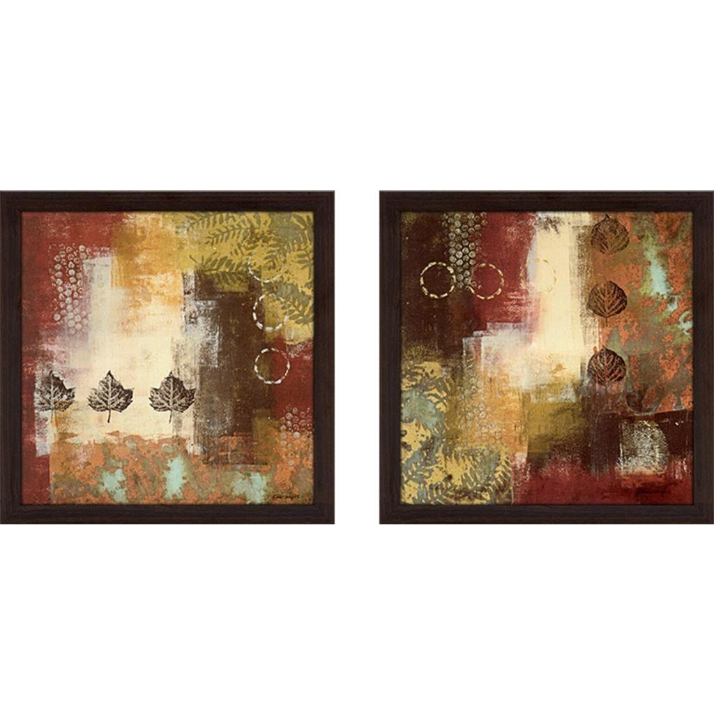 "Shop ""metallic Nature"" Wall Art Set Of 2, Matching Set – Free Inside Current Nature Wall Art (Gallery 19 of 20)"