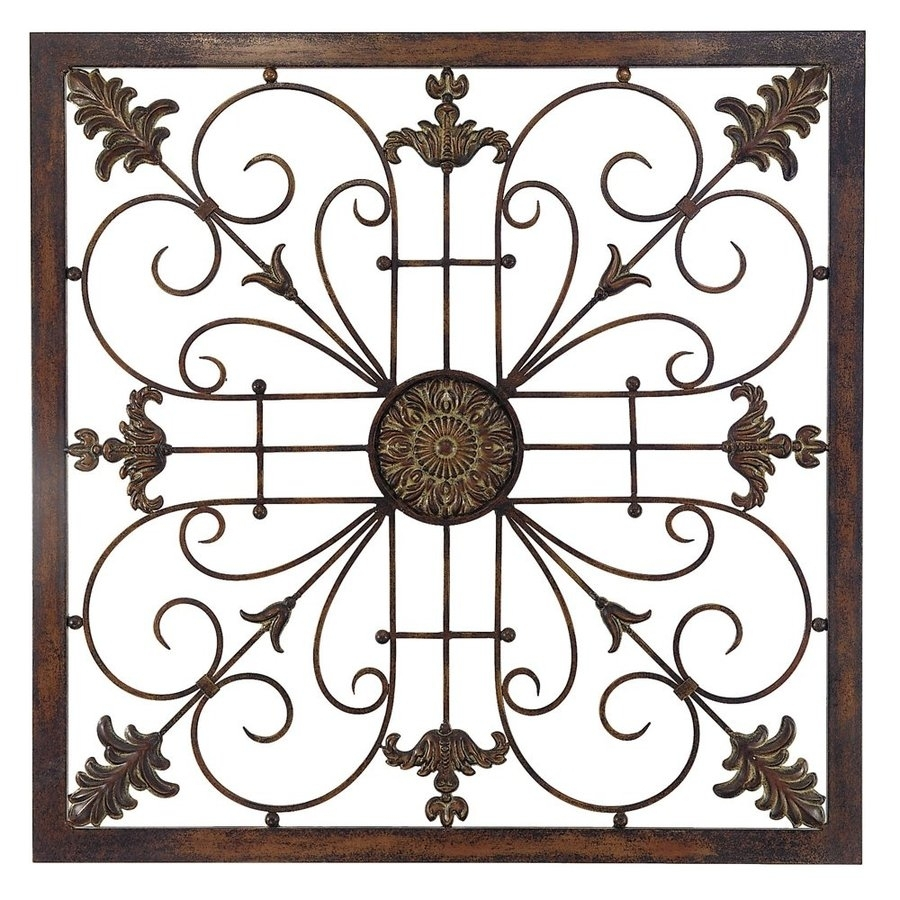 Shop Propac Images Scroll Metal Sculpture At Lowes With Regard To Most Popular Metal Scroll Wall Art (View 10 of 20)