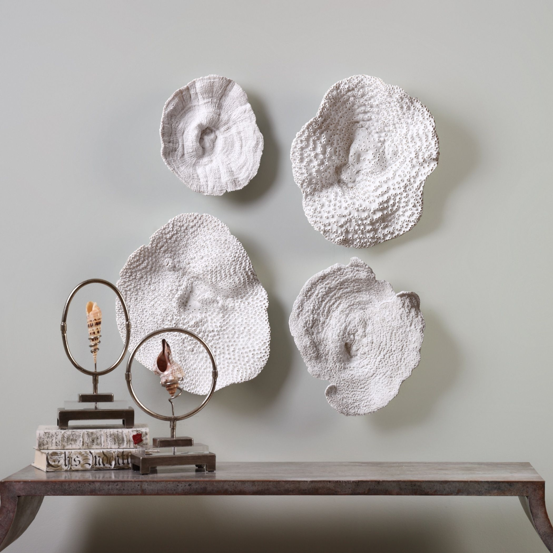 Shop Uttermost Sea Coral Wall Art (Set Of 4) – Free Shipping Today Pertaining To Most Current Coral Wall Art (View 14 of 20)