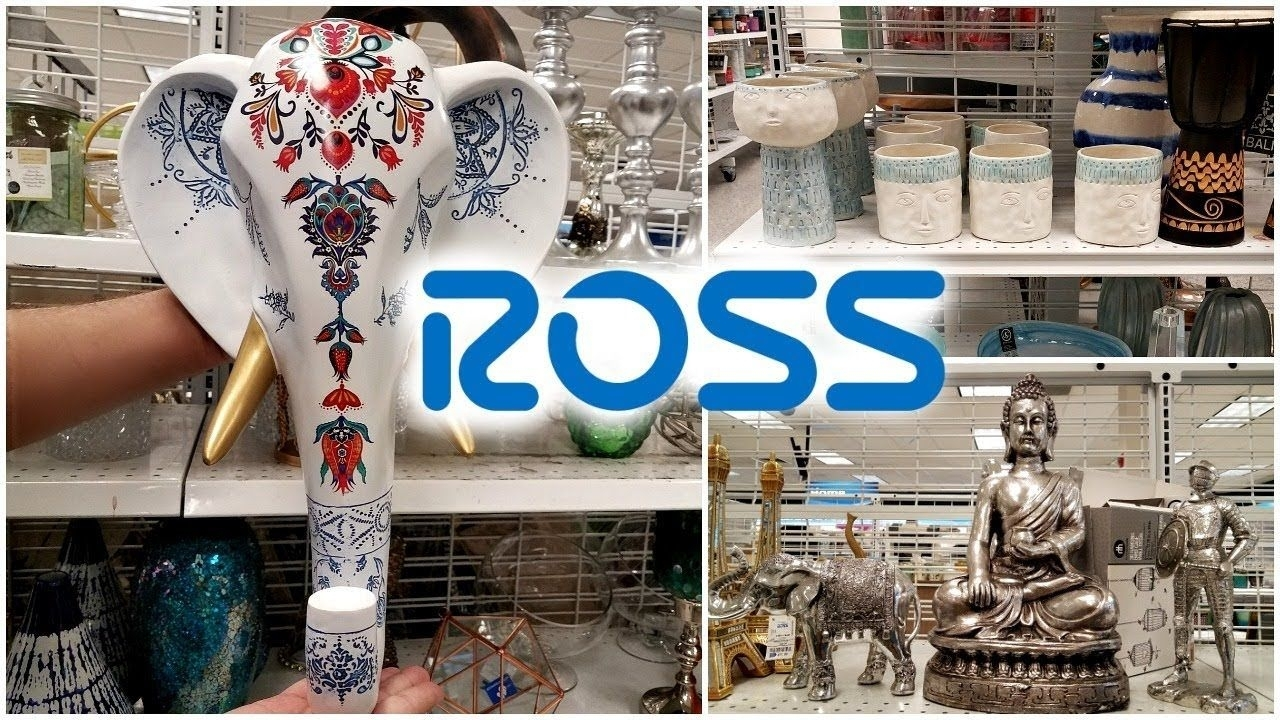 Shop With Me Ross Wall Art Decor Ideas Home Ideas Bedding Walk For Latest Ross Wall Art (Gallery 16 of 20)