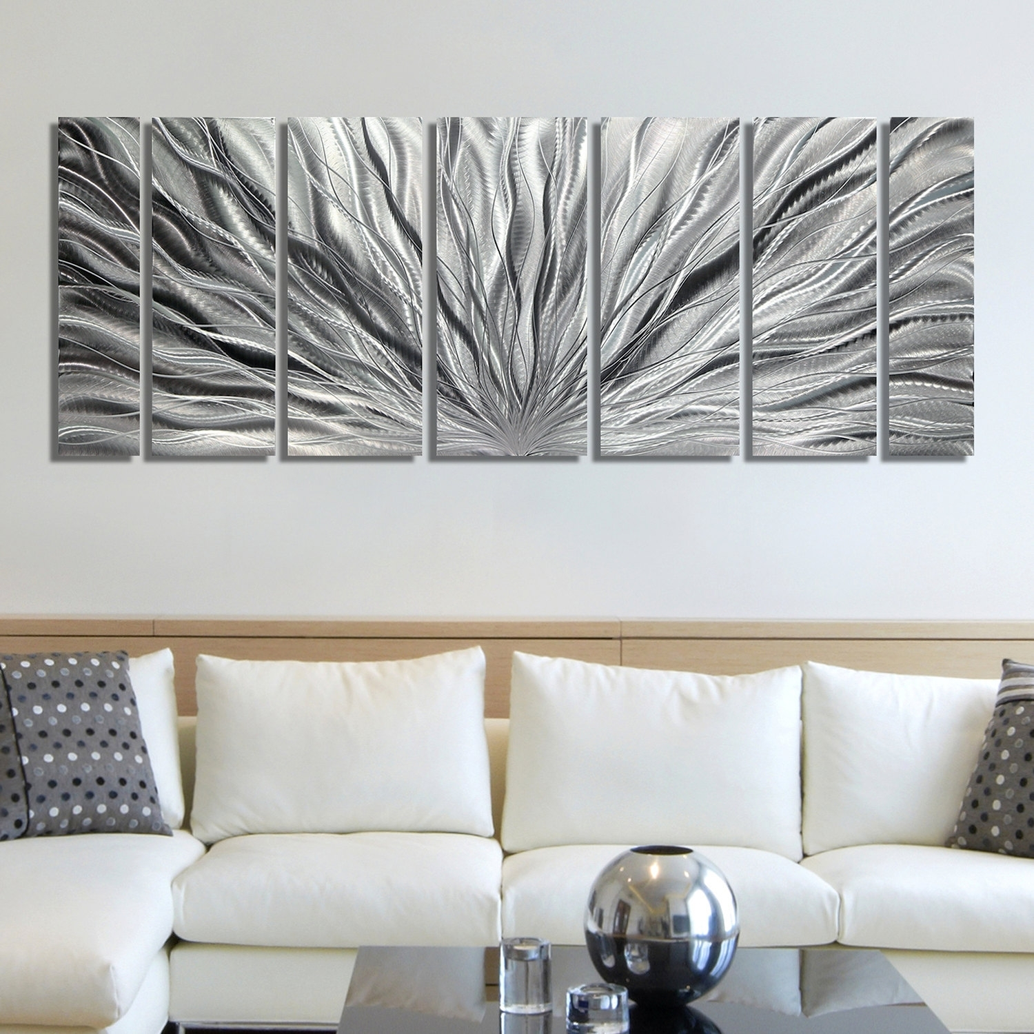 Silver Wall Art Cool Wall Decor On Sale – Wall Decoration And Wall In Most Current Silver Wall Art (View 17 of 20)