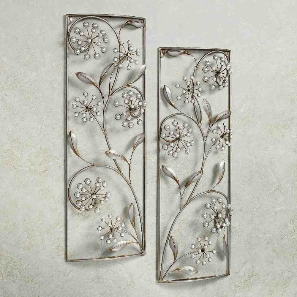 Silver Wall Art Decor | Wall Art Decor | Pinterest | Silver Wall Art Within 2018 Silver Wall Art (View 2 of 20)