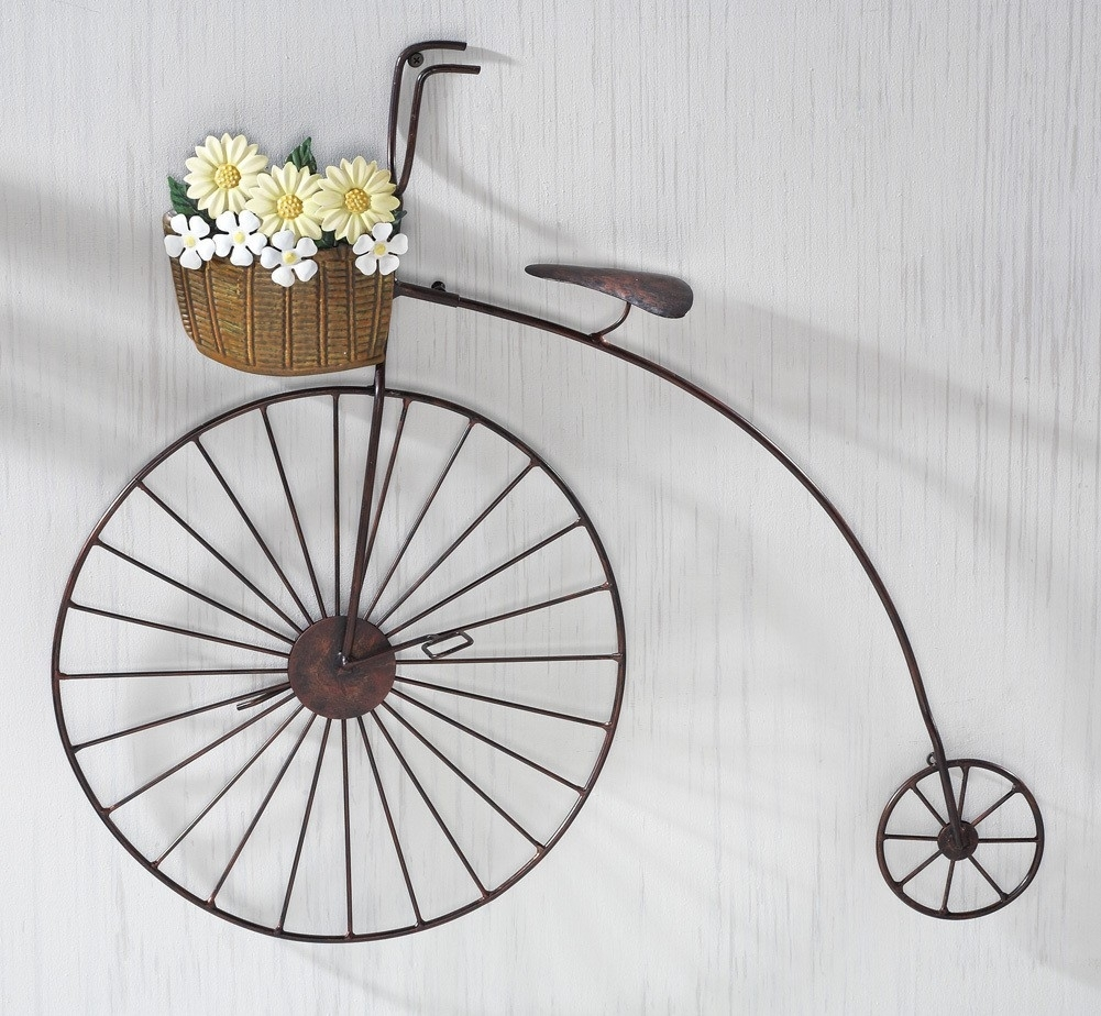 Simple Metal Bicycle Wall Art : Andrews Living Arts – Homemade Metal Throughout Newest Bicycle Wall Art (View 4 of 20)
