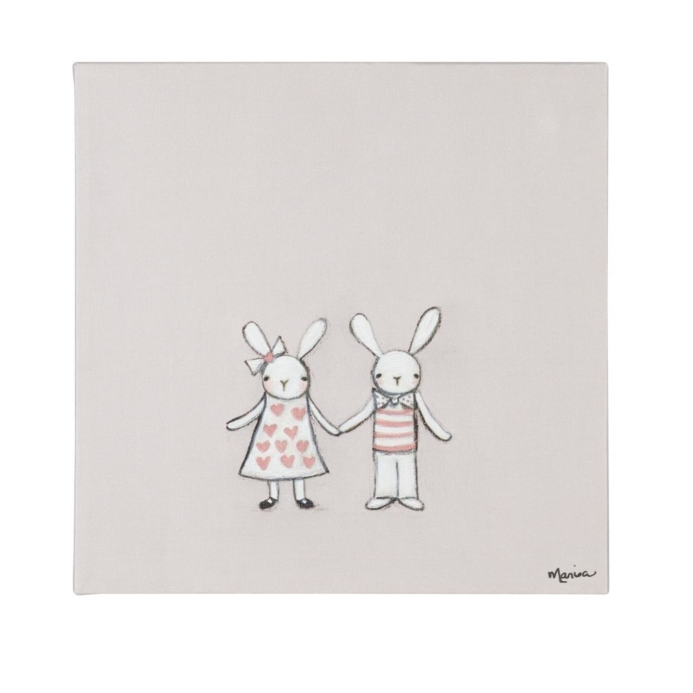 So Many Exclusive Kids Wall Art Prints And Decals, So Little Time Throughout Most Recently Released Bunny Wall Art (View 7 of 20)