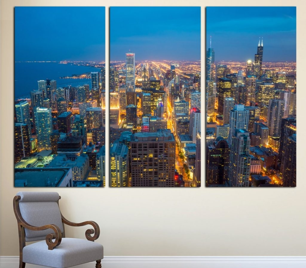 Sofa Ideas. Chicago Wall Art – Best Home Design Interior 2018 Inside Most Up To Date Chicago Wall Art (Gallery 7 of 15)