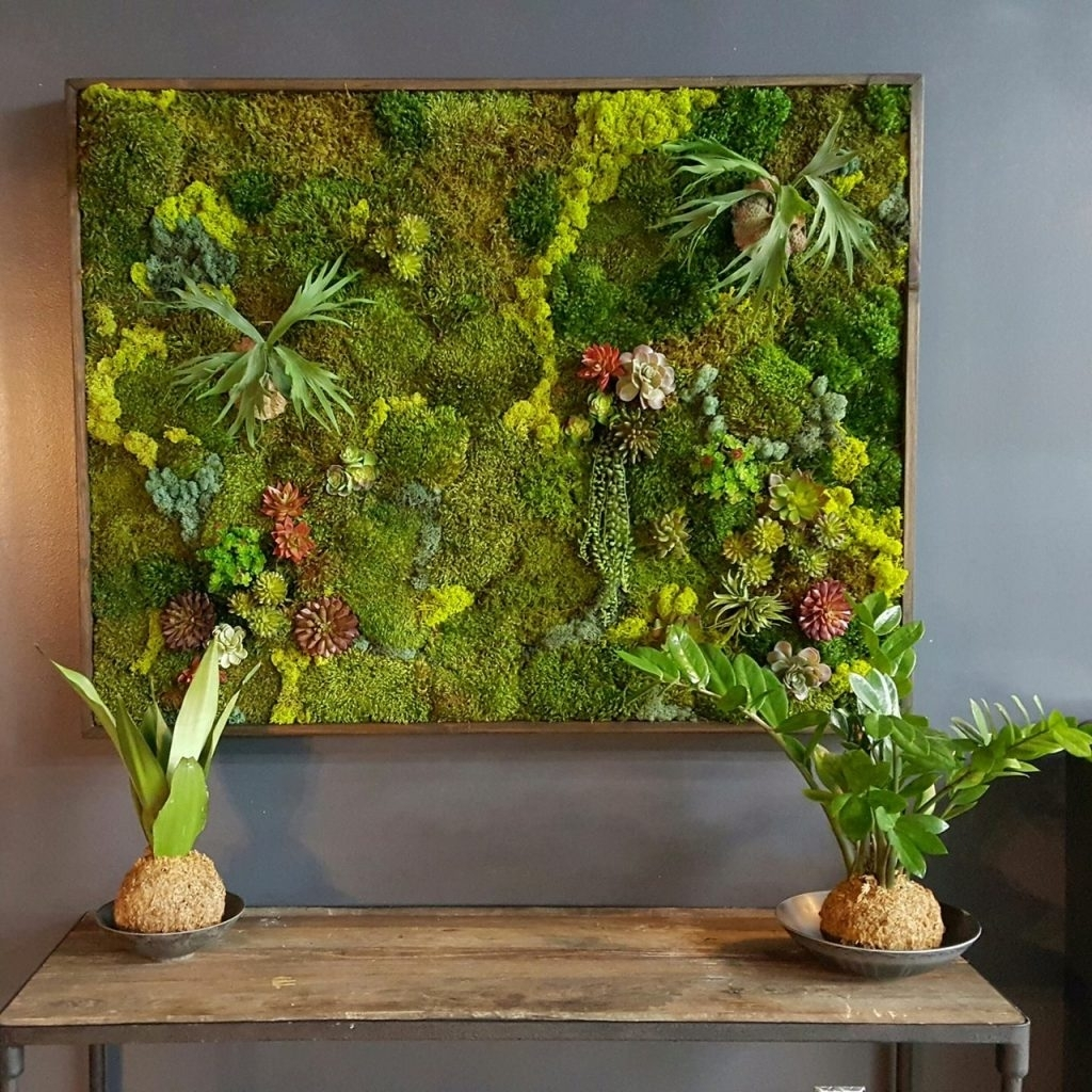 Sofa Ideas. Moss Wall Art – Best Home Design Interior 2018 Throughout Most Recently Released Moss Wall Art (Gallery 11 of 20)