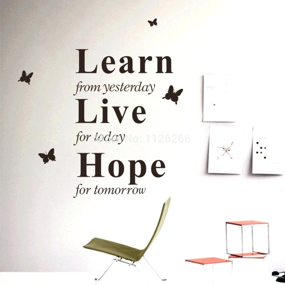 Sports Quotes Wall Decals Wall Arts Inspirational Quotes Wall Art In Current Inspirational Wall Art (View 13 of 15)