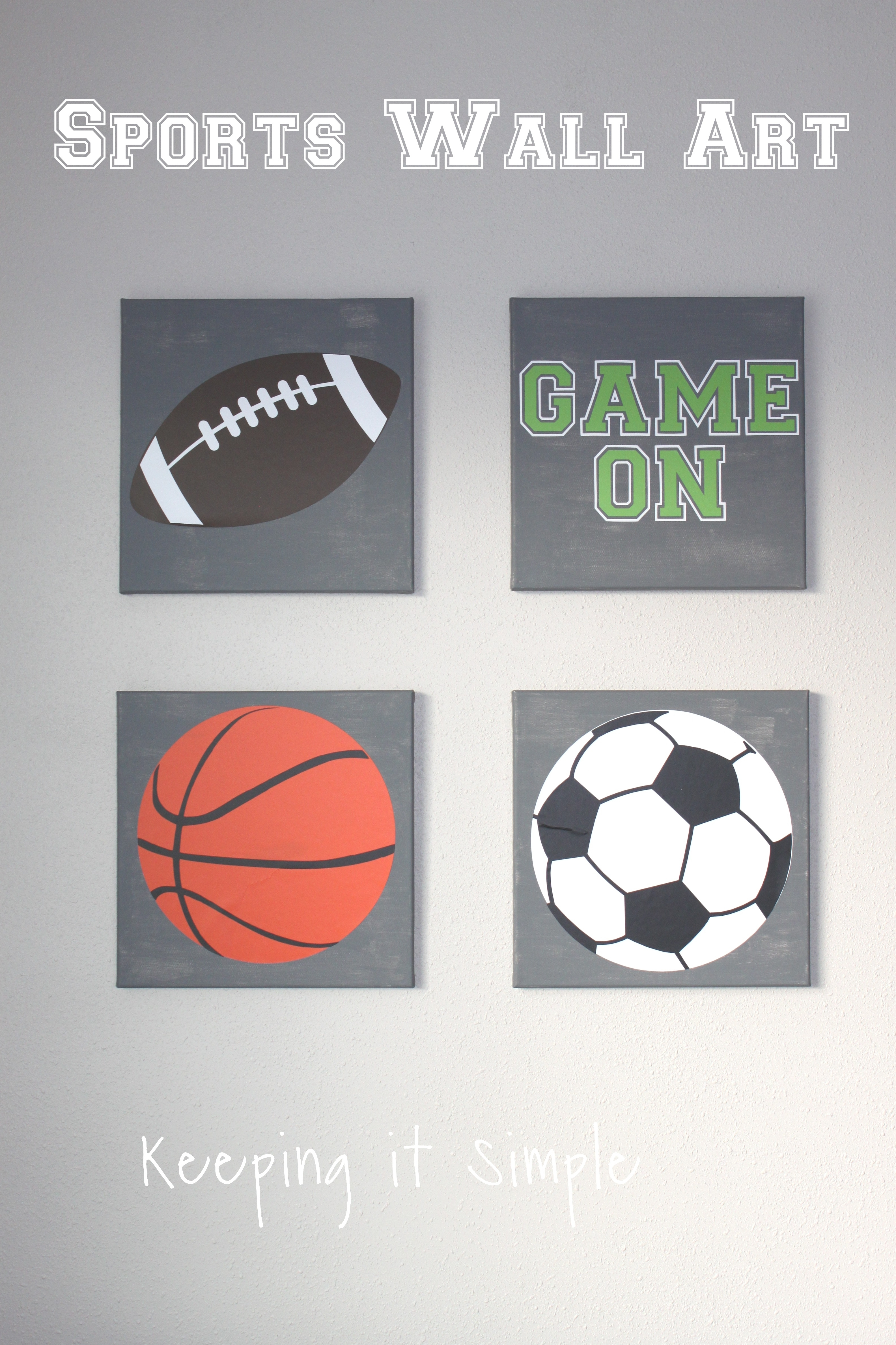 Sports Wall Art With Svg Cut File • Keeping It Simple For Most Up To Date Sports Wall Art (View 7 of 20)